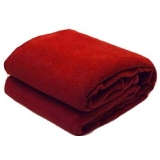 SNS Maroon Abstract Single Bed Fleece Blanket (240 cm x 150 cm) – Set Of 1