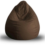 UK Bean Bags Classic Bean Bag Cover Large Size ( L Size ) – Dark Brown