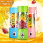 Portable Electric Fruit Juicer Maker Blender USB Rechargeable Mini Juice