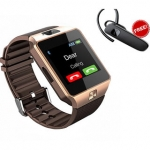 High Quality Wrist Watch Phone with Touch Screen + Bluetooth HandFree Combo