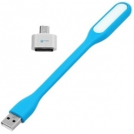 Usb Led Light Lamp with OTG Adapter (All Mix Colors)