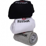 Reebok Unisex Ankle Socks – Pack of 3