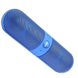 Bluetooth Speaker with FM/Pendrive Stereo Pill Shaped Works with all PC/Laptop/Mobile Android or all Device