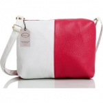 Mammon Women's Red & White Sling Bag