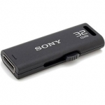 Sony Micro Vault Classic 32 GB Pen Drive (Black)