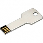 32 gb key shape pendrive metallic light weight usb 2.0