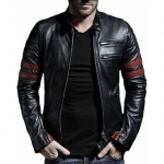29K Wolverine Leather Jacket for Men