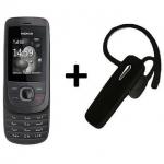 Nokia 2220 (Refurbished) 6-Month Warranty For Warranty Bazaar + Bluetooth