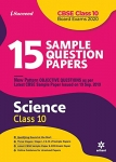 15 Sample Questions Paper Science Class 10th CBSE