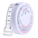 150cm Body Tape Mass Index Retractable Measurement Tape Body Accurate Calculator Diet Weight Loss