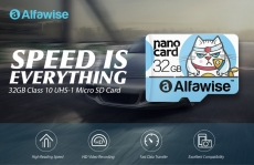 Alfawise 32GB High Speed High Capacity Micro SD Card