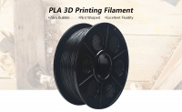 K – Camel 1.75mm PLA 3D Printing Filament 400m – BLACK