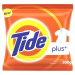 Tide + With Extra Power Lemon & Mint Detergent Washing Powder – 500 gm Pack