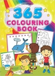 365 Colouring Book, creative faculties flow in full swing
