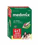 Medimix Classic Ayurvedic 18 Herbs Soap 125 gm (4+1 offer Pack)