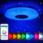 60W Remote Control Bluetooth Music LED Ceiling Light
