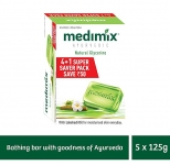 Medimix Glycerine Moisturising Soap 125 gm (4+1 offer Pack)