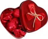 Skylofts Romantic Heart Shape Chocolate Tin Box Birthday Valentines Chocolate Gift Pack With A Someone Special Teddy Bear