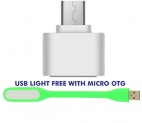 OTG Adapter with Free USB Led Light