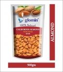 Glomin California Almond Raw 500 G 1Pc