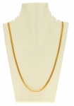 AanyaCentric Gold Plated Cable Designer Necklace Neck Chain