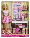 Barbie Playset With Doll Pink – 29 cm