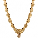 GoldNera Festive Gold Necklace Set