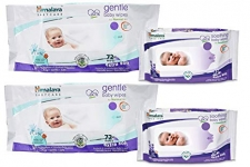 Himalaya Gentle Baby Wipes 72X2 And Gentle Baby Wipes 12 X2