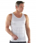 AVS White Slim N Lift Vest