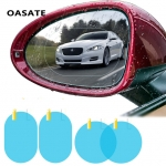 Car Rain Film Rearview Mirror Protective Film Anti Fog Membrane Anti-glare Waterproof Rainproof Car Mirror Window Clear Safer