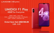 BOOM! UMIDIGI F1 Play Global Open Sale Price Unveiled, $199.99!