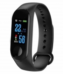M3 Band With Time And Heart Rate Sensor Features And Many Other Impressive Features, Water Proof