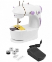 Ming Hui 4 in 1 Mini Sewing Machine with Foot Pedal, Bobbins & Adapter