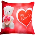 Heart Print Adorable Valentine Special Cushion Cover