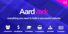 Aardvark – Community, Membership, BuddyPress Theme