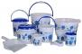 Only at Rs. 1299 Plastic Bath Set (Blue) -10 Pieces
