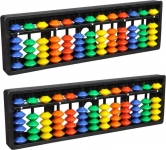 Abica Abacus Math Learning kit for Kids 13Rod Multicolor