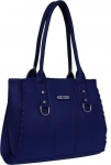 AISNA  Women Blue Shoulder Bag, Synthetic Leather