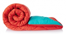 Solimo Microfibre Reversible Comforter, Single
