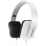 Ambrane Ultra Comfortable Explosive Bass Wired Headphone HP-21 With Mic(White)