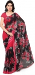 Only at Rs. 269 Floral Print Daily Wear Poly Georgette Saree