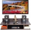 Only at Rs. 809 TV Setup Box & Remote Stand Wooden Wall Shelf