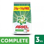 Ariel Complete Detergent Washing Powder – 2 kg with Free Detergent Powder – 1 kg