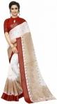 Only at Rs. 890 Printed Banarasi Cotton Blend Saree