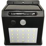 AS Solar Powered LED Wall Light PIR sensor