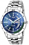 ASGARD Day n Date Feature Blue Dial Watch For Men