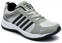 Asian Sports Shoes for Men, Grey black color