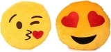 Avlon emoji, smiley Decorative Cushion Pack of 2
