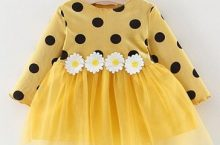 Only at Rs. 607 Awabox Dots Pattern Full Sleeves Dress