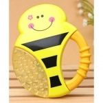 Multi Textured Water Filled Teether With Soft Sound Rattle